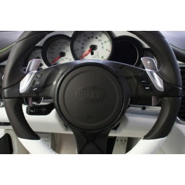 PDK steering wheel shifter paddles